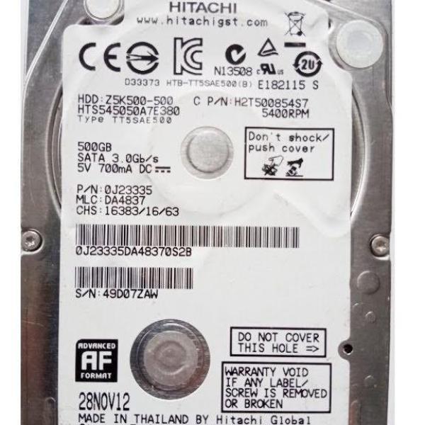 Giá ổ cứng HDD laptop 500GB-bảo hành 12 tháng