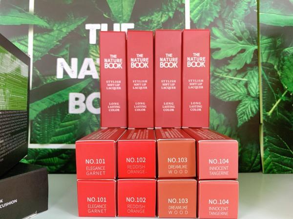 SON TINT THỜI THƯỢNG HÀN QUỐC THE NATURE BOOK giá rẻ
