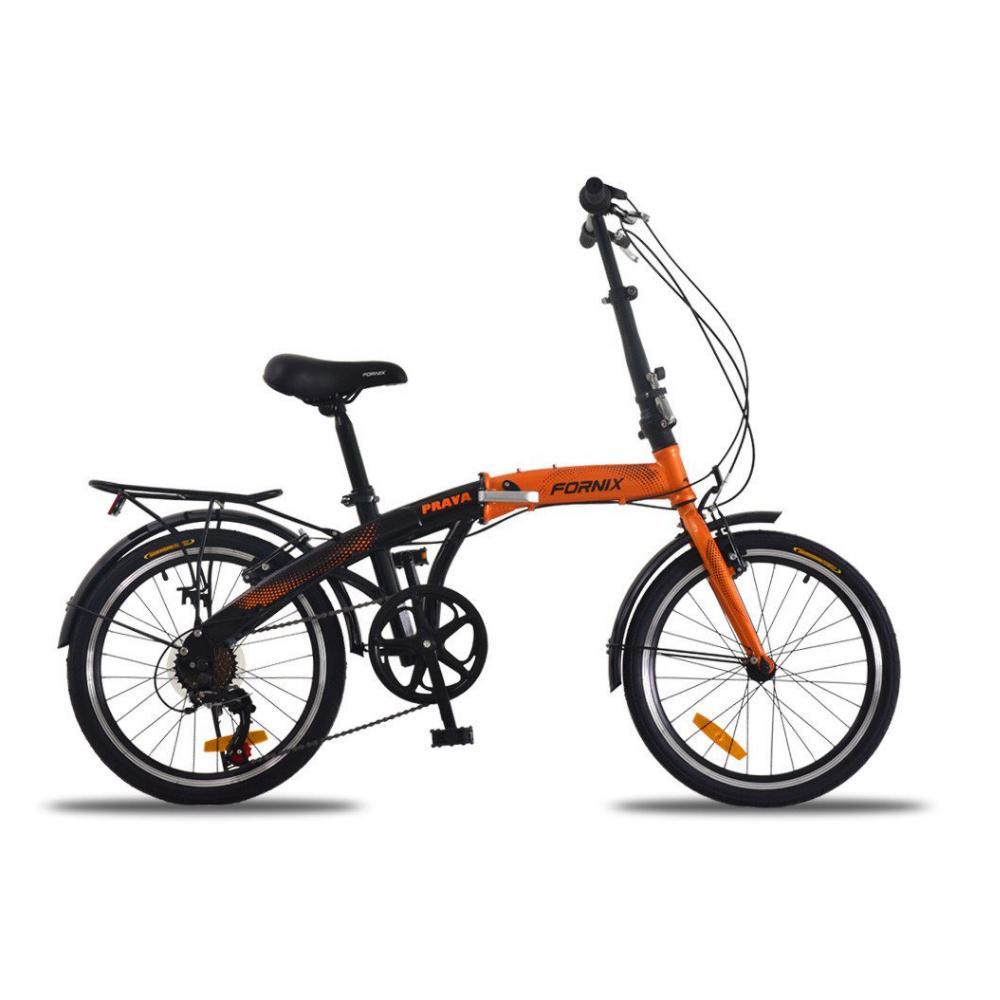 Mua Xe đạp gấp Fornix Prava màu cam đen sôi nổi