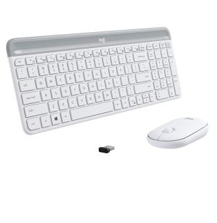 Bộ phím chuột không dây logitech MK470 Slim - Hàng Chính Hãng thumbnail