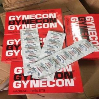 Viên Đặt Se Khít Vùng Kín Gynecon THÁI LAN 2 Vỉ (1 vỉ 5 viên) [Mua 1 tặng 1]cam kết hiệu quả chính hãng, làm hồng hết khí khư làm thon gọn se khít thu nhỏ vùng kín CHE TÊN KHI GIAO HÀNG thumbnail