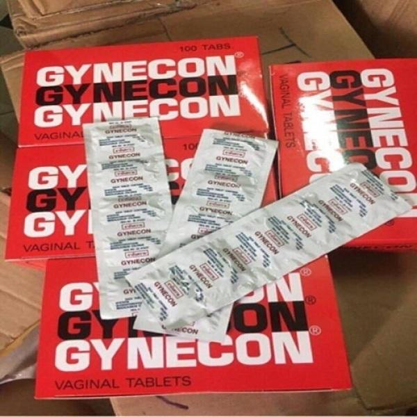 Viên Đặt Se Khít Vùng Kín Gynecon THÁI LAN 2 Vỉ (1 vỉ 5 viên) [Mua 1 tặng 1]cam kết hiệu quả chính hãng, làm hồng hết khí khư làm thon gọn se khít thu nhỏ vùng kín CHE TÊN KHI GIAO HÀNG