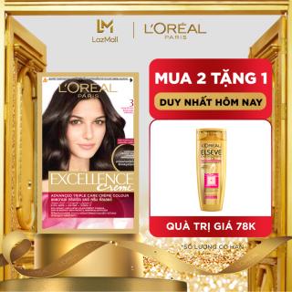 Màu nhuộm dưỡng tóc phủ bạc L Oreal Paris Excellence Crème 172ml thumbnail
