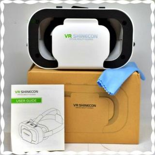 Kính thực tế ảo VR SHINECON 5.0 cao cấp chính hãng. Phiên bản cao cấp thấu kính không đau mắt. Có tay cầm chơi game. Máy phát video và game 3D VR. Bảo hành 12 tháng thumbnail
