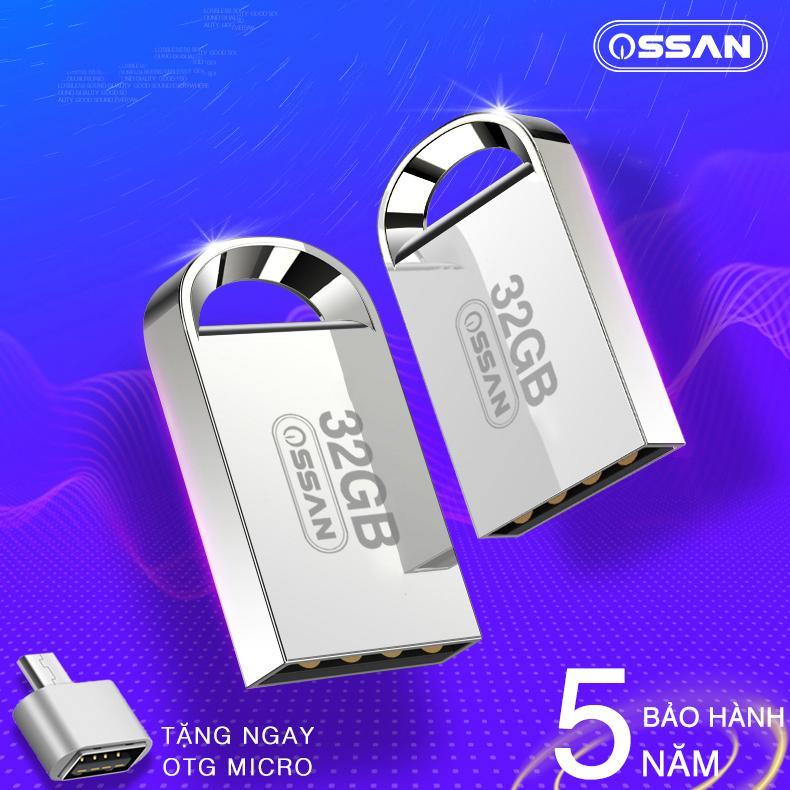 USB 32GB SIÊU NHỎ CHỐNG NƯỚC - TẶNG OTG MICRO USB - BẢO HÀNH 5 NĂM