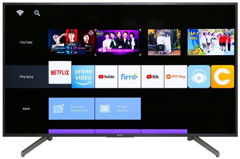 Bảng giá Smart Tivi Sony 4K 49 inch 49X7000G - Hàng phân phối chính hãng