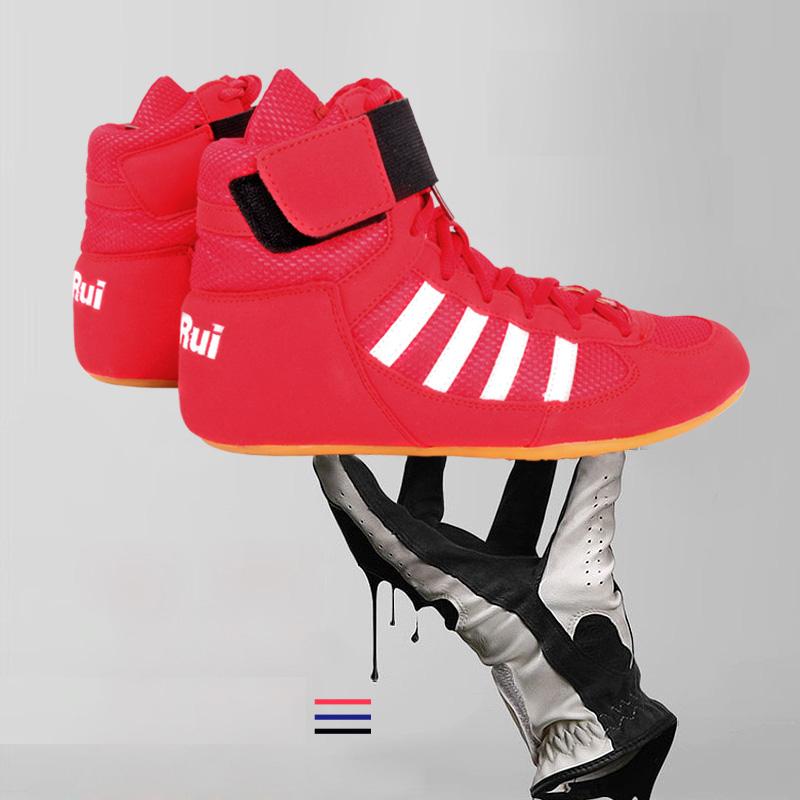 Unisex Authentic Giày Đấu Vật Cho Nam Tập Luyện Giày Bò Cơ Bắp Đế Ngoài Bốt Cột Dây Sneakers Chuyên Nghiệp Boxing Giày
