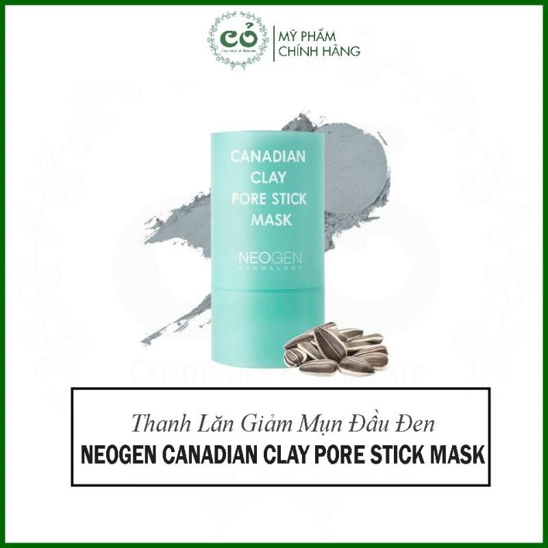 Thanh Lăn Đất Sét Neogen - Mặt Nạ Đất Sét Bùn Băng Giảm Mụn Đầu Đen Và Se Nhỏ Lỗ Chân Lông Neogen Canadian Clay Pore Stick Mask 28g