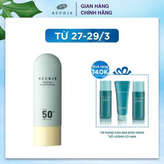 Gel chống nắng Accoje Protective No Sebum Sun Gel SPF 50+ PA++++ 50ml thumbnail
