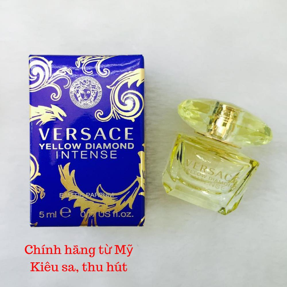 [Mini] Nước hoa Versace Yellow Diamond Intense 5ml