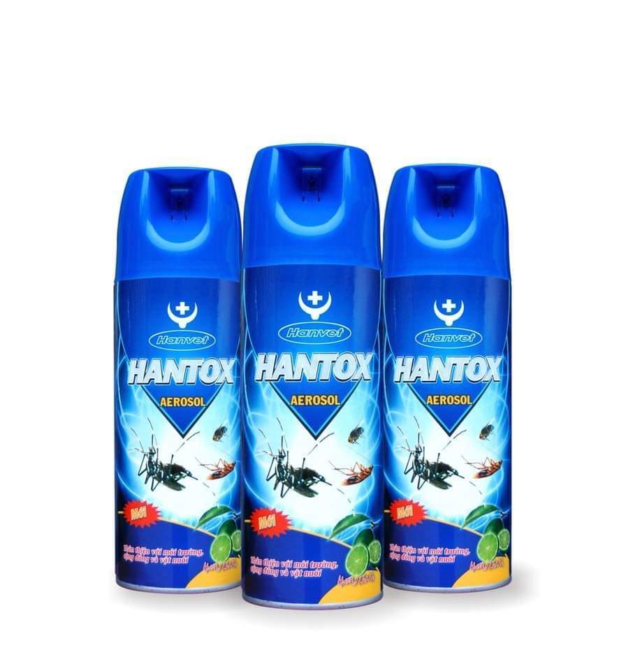 xịt ruôi muỗi kiến gián Aerosol hương chanh 400 ml