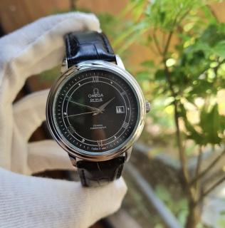 Đồng hồ nam thời trang dây da OMG - mặt kính chống xước thumbnail