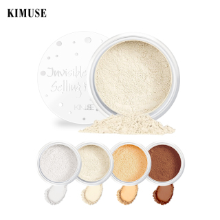 KIMUSE Bedak Setting Loose Powder 4 Shade Warna untuk Makeup thumbnail