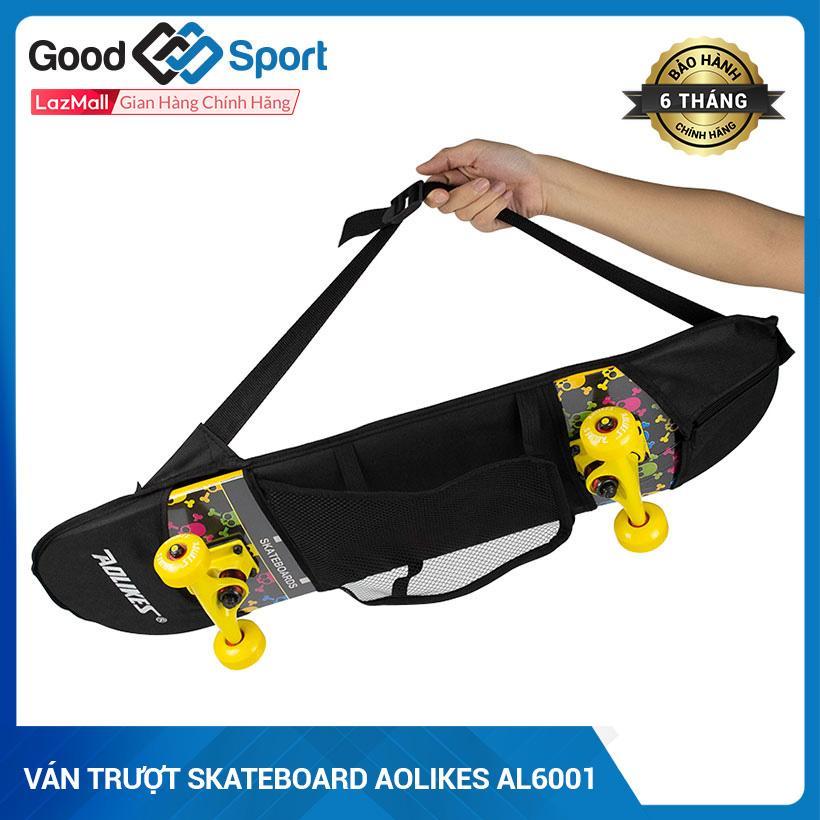 Giá bán Ván trượt skateboard thể thao chất liệu gỗ phong ép cao cấp 5 lớp mặt nhám [ TẶNG KÈM TÚI ĐỰNG VÀ BỘ DỤNG CỤ SỬA CHỮA]