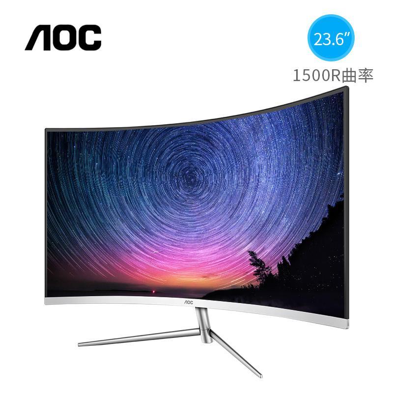 màn hình cong 24 inch AOC C24V1H curved bh 12 tháng