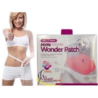 Miếng dán tan mỡ MyMi Wonder Patch Miếng dán từ tính giúp giảm cân, giảm mỡ bụng. Giảm cân nhanh chóng, có hiệu quả lâu dài. Giúp bạn có một thân hình cân đối, an toàn và đơn giản thumbnail