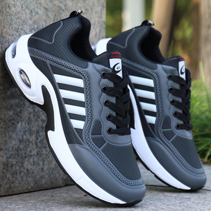 Giày thể thao nam sneaker cao cấp Hàn Quốc Kiểu dáng cực ngầu trẻ trung mạnh mẽ năng động