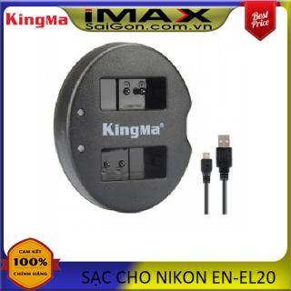Sạc đôi may ảnh Kingma cho Nikon EN-EL20 thumbnail