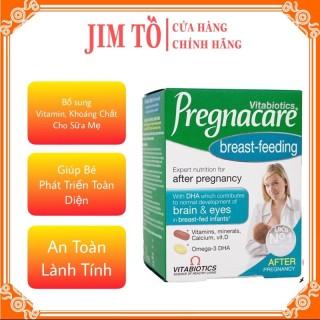 [Hiệu Quả ] Vitamin Pregnacare Breast feeding Viên Uống Lợi Sữa Bổ Sung Vitamin Tổng Hợp Sau Sinh thumbnail