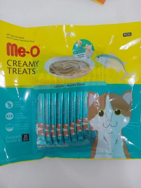 Me-O Creamy Treats - Bánh thưởng dạng kem cho mèo Me-O loại 300g (20x15g)