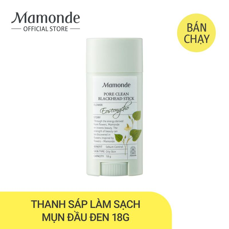 Thanh sáp sạch mụn đầu đen ngừa mụn thu nhỏ lỗ chân lông Mamonde Pore Clean Stick 18g giá rẻ