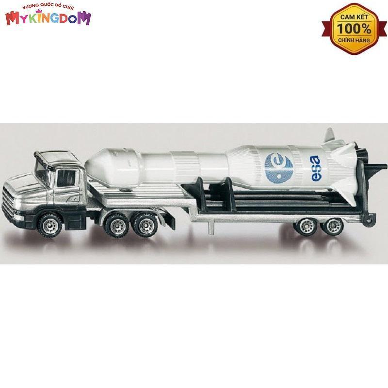 Mô hình xe tải sàn thấp và tên lửa Siku 1614