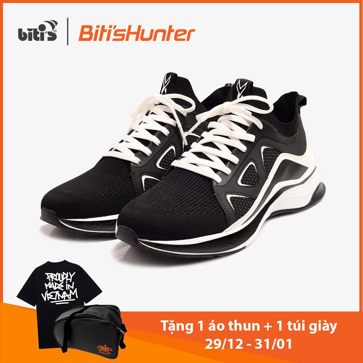 [TẶNG 1 ÁO KHOÁC HUNTER TỪ 3/3 - 31/3] Giày Thể Thao Nam Biti's Hunter X Americano 2K20 DSMH03400DEN