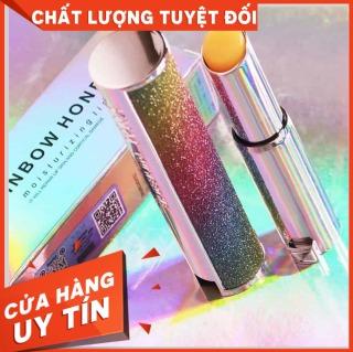 [SON ĐẸP] Son dưỡng đổi màu YNM Rainbow Honey Lip Balm, sản phẩm tốt, chất lượng cao, cam kết như hình, an toàn cho người sử dụng huyển màu son tuỳ nhiệt độ và thời tiết hay độ ph môi. thumbnail