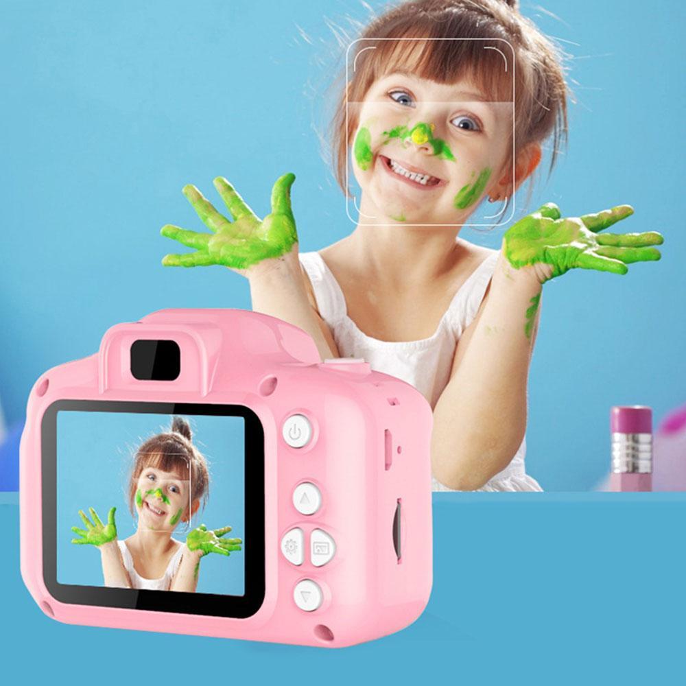 Mã Giảm Giá tại Lazada cho 720P Cam Fun Kids Camera Mini Kid Camera Selfie Image Kids Cartoon Mini Photographyprop Home Decor Digital Kids Camera