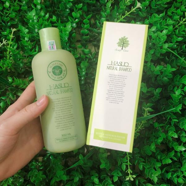 Dầu gội ngăn rụng và kích thích mọc tóc Hasuo Natural Shampoo 300ml