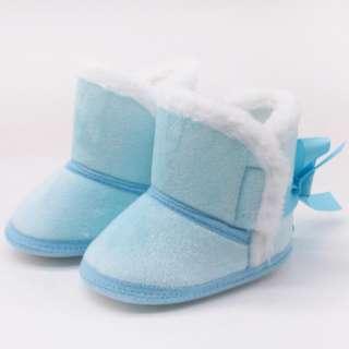 Bốt Trẻ Sơ Sinh Giày Bé Trai Bé Gái Mùa Đông Khung Tập Đi Tuyết Ấm Áp Chống Trượt Cho Trẻ Tập Đi