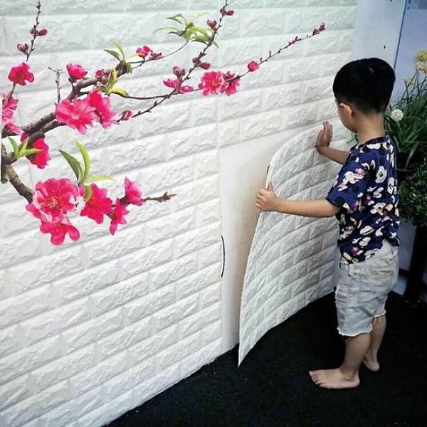 ( combo 20 tấm) xốp dán tường giả gạch 5mm cao cấp cách âm cách nhiệt, cam kết hàng đúng mô tả, chất lượng đảm bảo an toàn đến sức khỏe người sử dụng