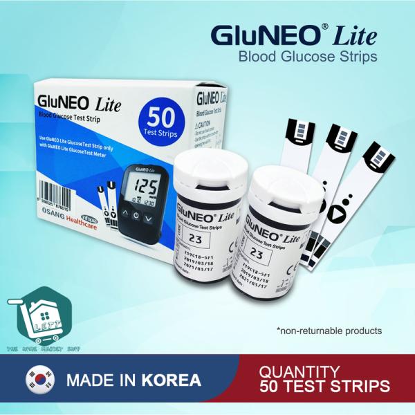 Nơi bán Que thử đường huyết GluNEO Lite 50 que