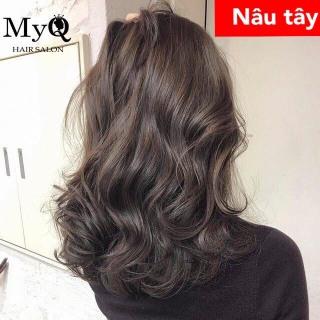 Tự nhuộm tóc màu Nâu tây tại nhà, hàng nội địa Việt Nam, không gây hư tổn cho tóc (Trọn bộ tặng gang tay, trợ nhuộm) thumbnail