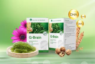 (Chính Hãng) COMBO 2 HỘP G-Brain Hỗ trợ phát triển Trí Não, tăng cường hệ Miễn Dịch cho Trẻ thumbnail