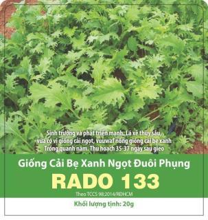 Hạt Giống Cải Ngọt Đuôi Phụng 20gr thumbnail