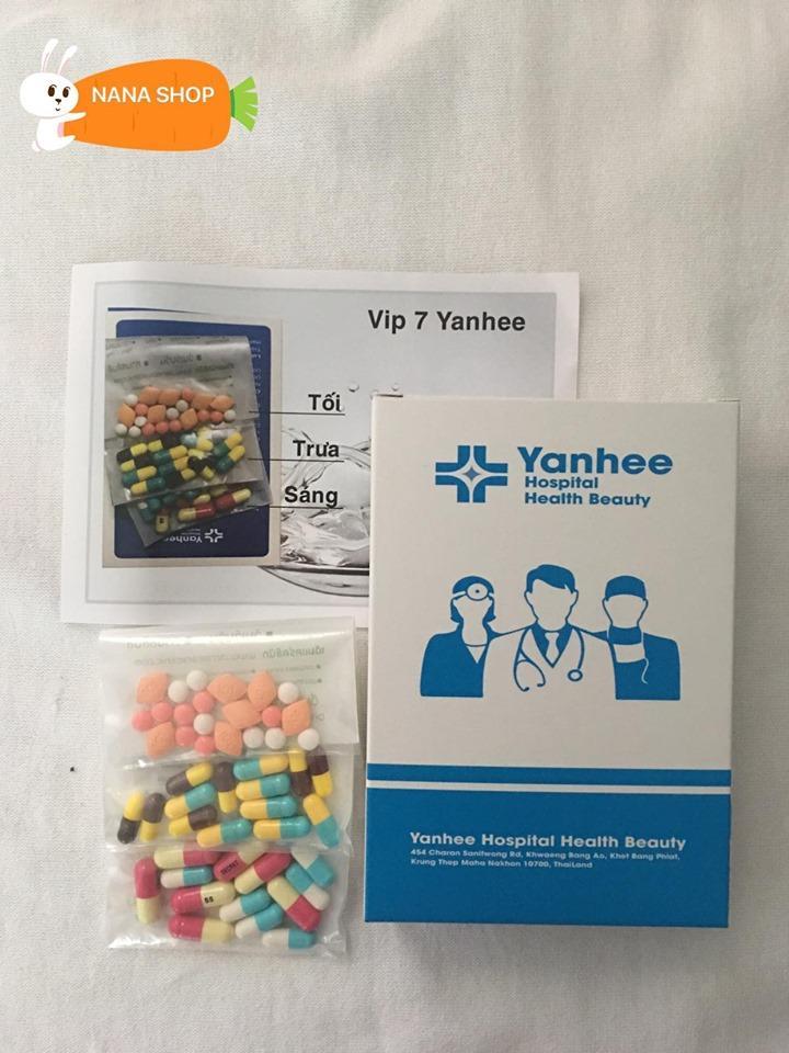 Giảm Cân Vip 7 Yanhee giảm mạnh [ Liệu Trình 2 tuần ] nhập khẩu