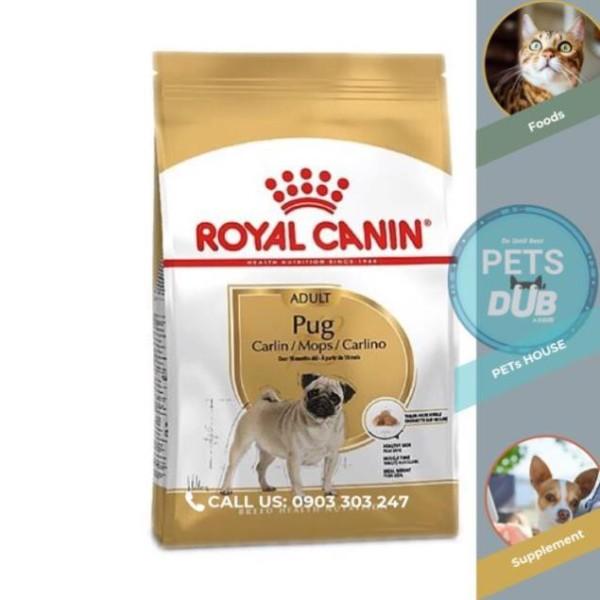 Thức ăn cho chó Pug trưởng thành (bao 1,5kg) (PETs dub)