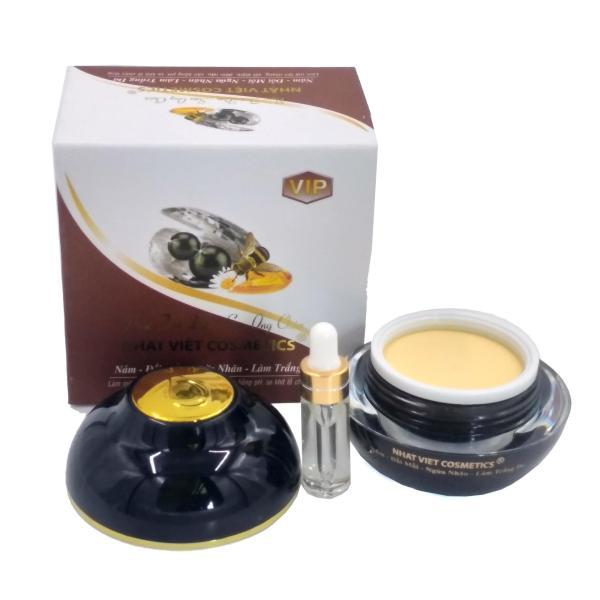 Kem nám - Đồi mồi - Ngừa nhăn - Làm trắng da Ngọc trai đen - Sữa ong chúa Nhật Việt 30g (Trắng - Nâu)