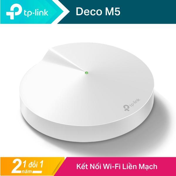 Bảng giá TP-Link Hệ thống Wifi Mesh cho Gia đình AC1300 cho độ phủ wifi tuyệt vời Deco M5 1 packs - Hãng phân phối chính thức Phong Vũ