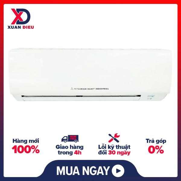 Bảng giá [HCM][Trả góp 0%]Máy lạnh Mitsubishi Heavy SRK09CTR-S5 - Chế độ làm lạnh nhanhChế độ tiết kiệm điệnChế độ khử ẩmChức năng tự khởi động