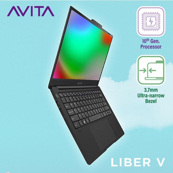 Bảng giá Laptop AVITA LIBER V 14 màu đen mờ - Intel Core i5-10210U / RAM 8GB / Bảo hành 18 tháng - Tặng balo - Hàng chính hãng Phong Vũ