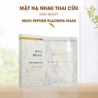Mặt Nạ Nhau Thai Cừu Daily beauty Multi peptide Placenta Mask hộp 6 miếng thumbnail