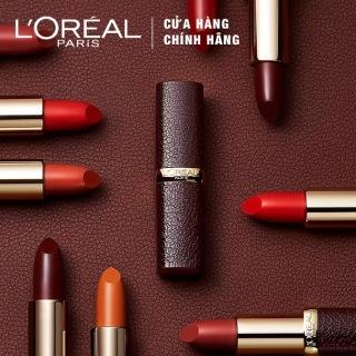 Son Lì Mượt Môi L Oreal Paris Luxe Leather Limited Edition 3.7g thumbnail
