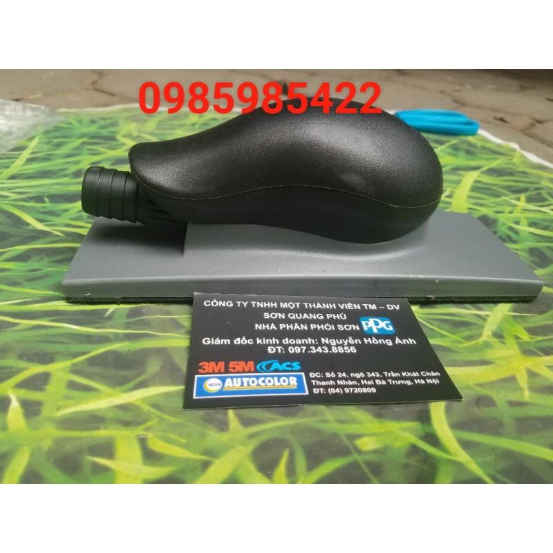 Thanh chà nhám bằng tay chữ nhật MIRKA 70x198mm 22 lỗ code: 8391502011