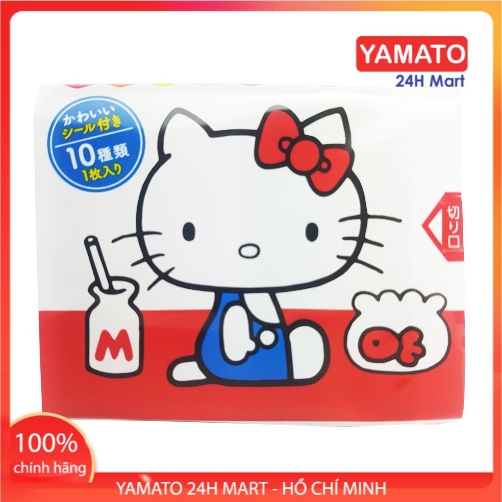 Gia Vị Rắc Cơm Thập Cẩm Hello Kitty (5g*20 gói) Nhật Bản Cho Bé Từ 1 Tuổi, Rắc Cơm Tươi Cho Bé, Rắc Cơm Nhật, Rắc Cơm Rong Biển Cho Bé, Gia Vị Rắc Cơm Nhật Bản