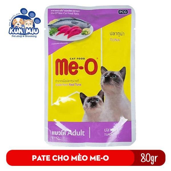 Pate Cho Mèo Me-O Vị Cá Ngừ 80G