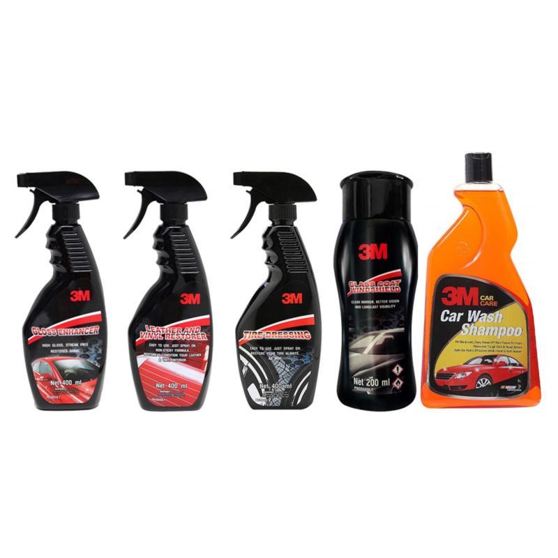 Bộ sản phẩm chăm sóc xe toàn diện 3M 39034LT, 39042LT, 39040LT, 08889LT và RX-1L COMBO 5DD-TL