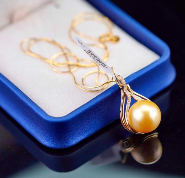 """Dây chuyền Ngọc biển Vàng 18K """"Vaadoo Dazzling Ocean (Sea pearl 18K Gold)"""""""