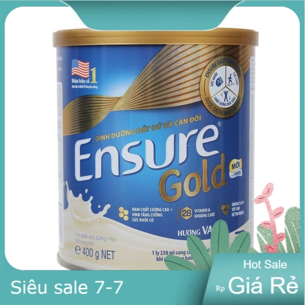 Sữa bột Abbott Ensure Gold Hương Vani 400g - Lon 400g giá rẻ